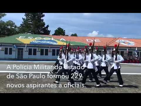 Polícia Militar de São Paulo: Barro Branco forma 229 aspirantes a oficiais