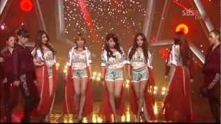 4minute - Volume Up Inkigayo 2012 05 13