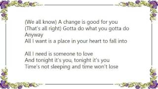 Cheap Trick - Tonight It's You Lyrics