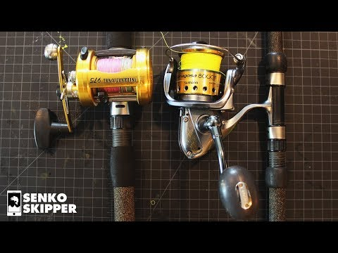 Salt Water Shore fishing: Why use a Conventional Fishing Reel vs Spinning reel?