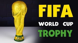 How to make FIFA WORLD Cup Trophy from cardboard DIY at HOME