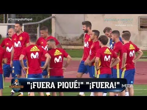 El DÍA MÁS COMPLICADO de Piqué con la Selección española