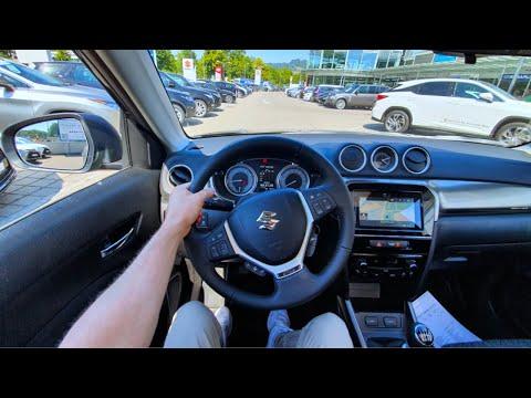 2020 Suzuki Vitara Hybrid Test Drive Review POV