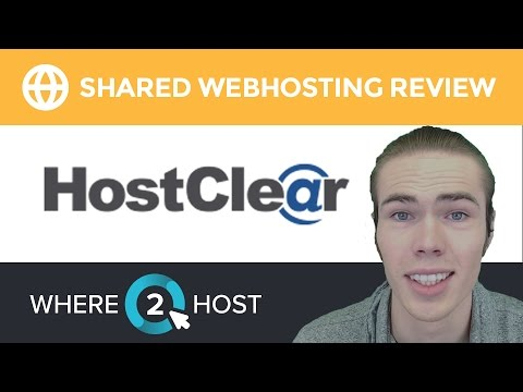 HostClear Shared Web Hosting Review 2017