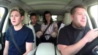 Carpool Karaoke: Drag Me Down - One Direction ft. James Corden