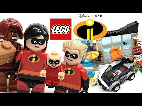 LEGO Incredibles 2 The Great Home Escape review! 2018 set 10761!