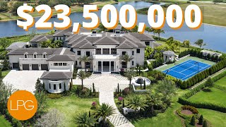 INSIDE The BIGGEST & MOST EPIC MEGA Mansion In Florida | $23.5 MILLION