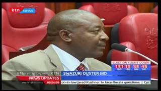 Swazuri to defend himself in court against receiving a bribe