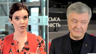 Петро Порошенко відповів на незручні запитання Яніни Соколової