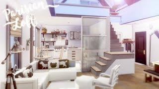 Parisian Loft ☕️ 🥐 | The Sims 4 | Speed Build | CC Free + Download Links