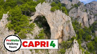 Capri Walking Tour 4 - The Pizzolungo Trail And The Natural Arch