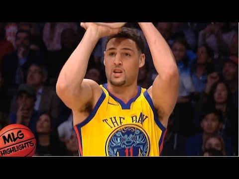 Klay Thompson Full Three Point Contest / Feb 17 / 2018 NBA All Star Weekend
