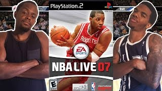 THAT WASN'T NO FOUL!! - NBA Live 07 (PS2)   #ThrowbackThursday ft. Juice