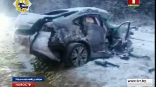 Две крупные аварии произошли на юге Беларуси