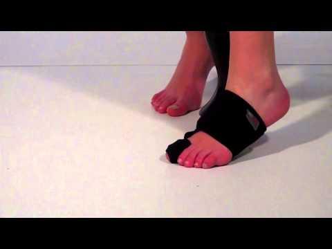 แตะยางเท้าแรก hallux ยาง fosta ฉ 2914