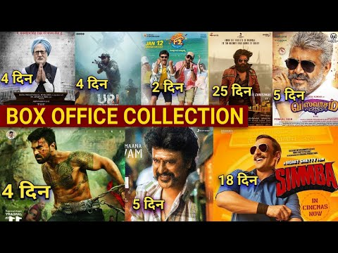 Box Office Collection Of KGF vs Simmba, Vinaya Vidheya Rama Collection, Vishwasam  Petta Collection