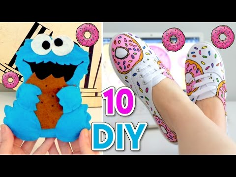 5 Minute Crafts To Do When You're BORED! 10 Quick and Easy DIY Ideas!