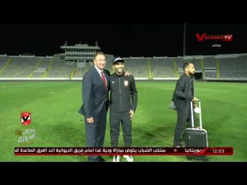 شاهد ماذا فعل الكابتن محمود الخطيب مع لاعبى الاهلى عقب مباراة الوداد