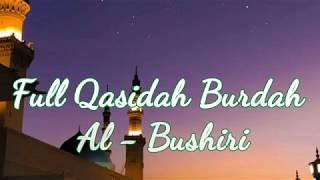 Full Qasidah Burdah Al Bushiri
