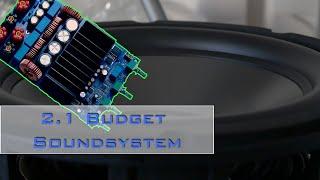 Projekt:: Budget 2.1 Soundsystem selber bauen - Intro [de]