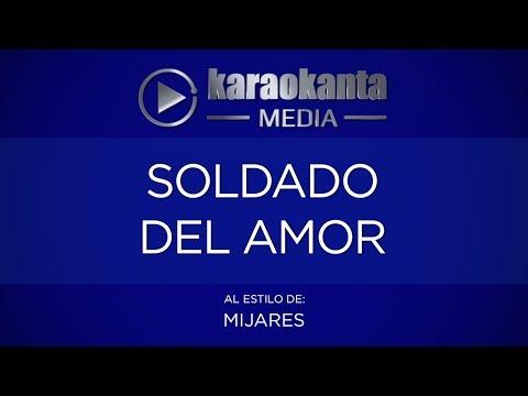 Soldado del amor Manuel Mijares