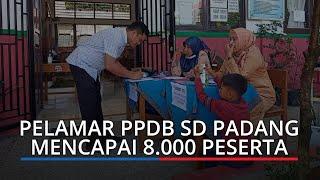 Pelamar PPDB SD di Padang Mencapai 8 000 Peserta, Besok Hari Terakhir Pendaftaran