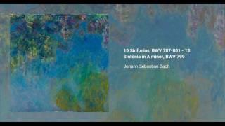 15 Sinfonias, BWV 787-801