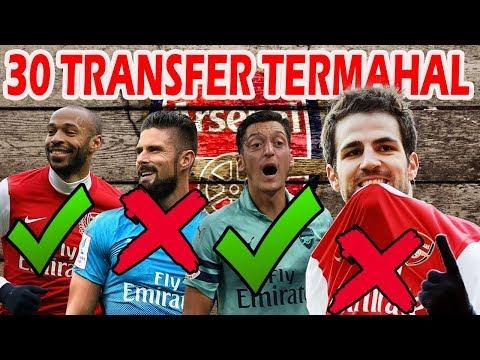 GAK ADA FABREGAS!? Inilah 30 Transfer Pemain Arsenal Termahal Sepanjang Sejarah Sepakbola