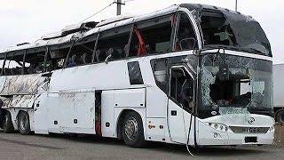 ДТП с автобусами в Подмосковье и под Тулой