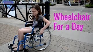 Day In A Wheelchair Challenge  | Bethany G