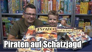 Piraten auf Schatzjagd (Ravensburger) - Piratenspiel ab 6 Jahre .... durchaus ein Klassiker!