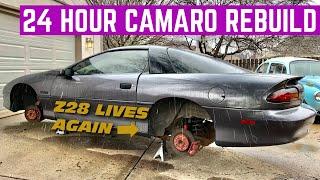 SAVING My High School Z28 Camaro In 24 HOURS