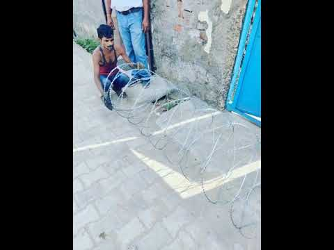 Concertina Wire Fencing