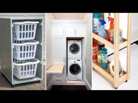 10 Small Laundry Room Organization Ideas