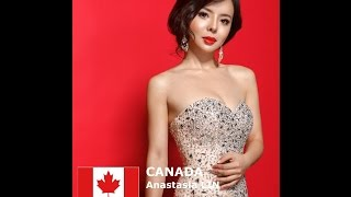 Anastasia Lin Contestant from Canada for Miss World 2016 Introduction