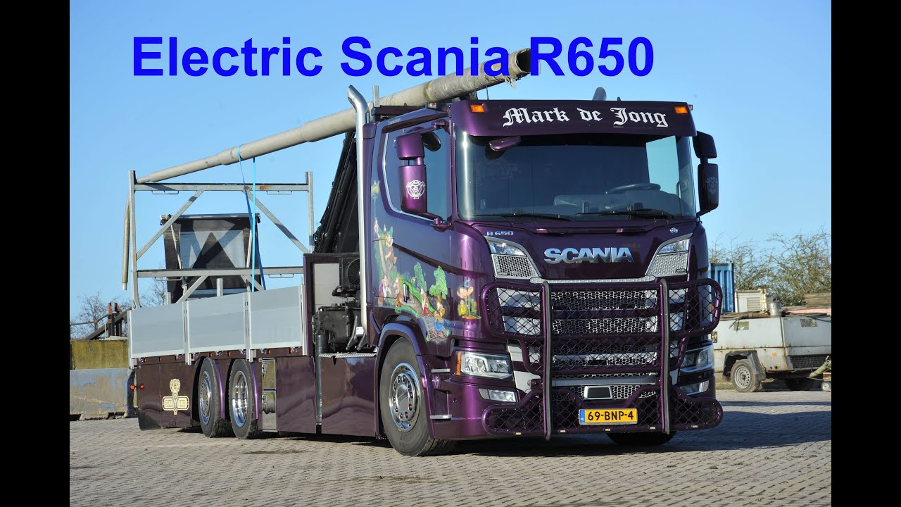 Electrified Scania R650