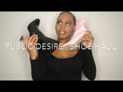 Public Desire | Shoe Haul & Try On