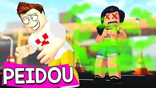 SOBREVIVA AO SUPER PEIDO no ROBLOX !!