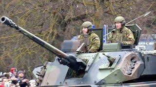 ロシア国境にNATO部隊を展開・エストニア「ナルヴァ」で軍事パレード