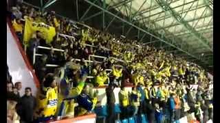 preview picture of video '12.12.2014  HC Mora Olomouc - PSG Zlín : gol na 1:3 + pozápasová děkovačka'