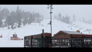 Big Bear Blasted With SNOW. March 6, 2019 Bear Mountain Ski Resort Getting Hammered. Looks Amazing.
