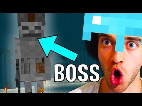 Tohle Jsem Našel Pod Vesnicí V Minecraftu! (POMOC!)