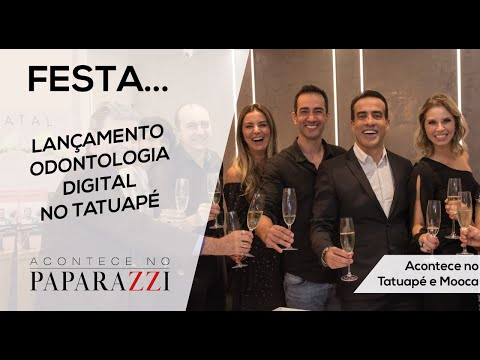Assista o vídeo da Festa de lançamento do novo studio de odontologia digital, no Tatuapé