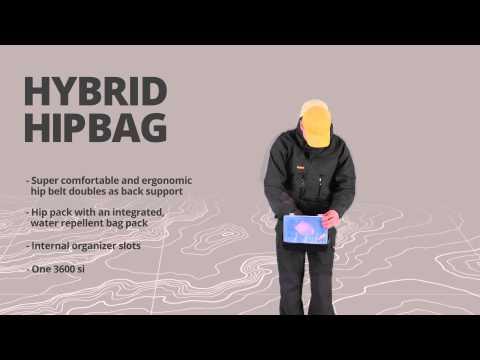 Rapala Hybrid Hip Pack övtáska videó