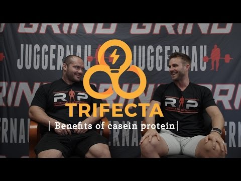 Benefits of casein protein with Dr. Mike Israetel - Trifecta Tips
