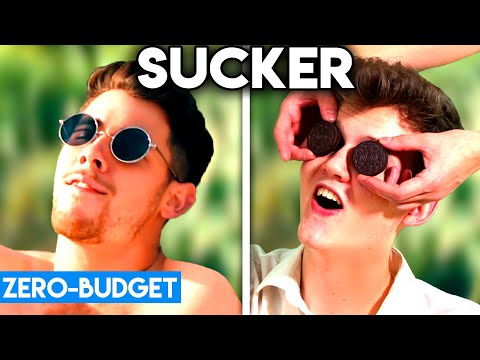 JONAS BROTHERS WITH ZERO BUDGET! (Sucker PARODY)