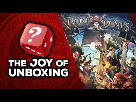 The Joy of Unboxing: Rum & Bones