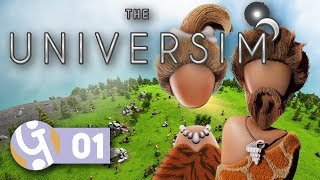🌌 Getting Started...   Let's Play The Universim Ep. 01