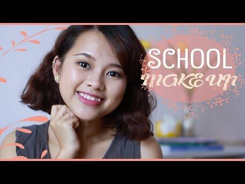 Trang Điểm Đi Học- Back to School Makeup Tutorial