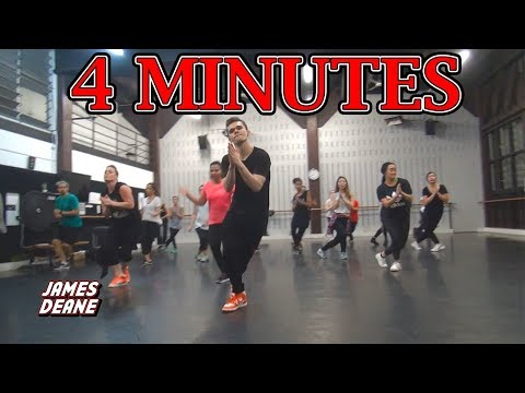 """4 MINUTES"" - Madonna Ft. Justin Timberlake & Timbaland | Choreography by James Deane"